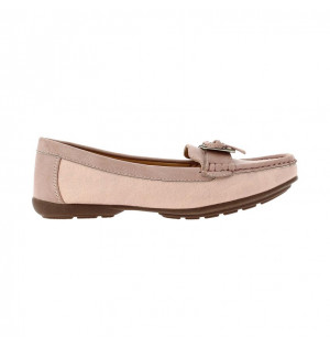 Mocasines para mujer marca Via Spring color rosado