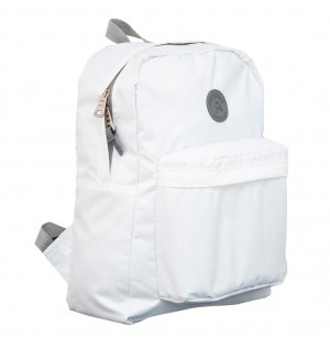 Morral marca Moshila color blanco