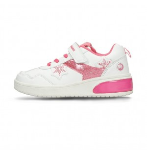 JUNIOR GIRLS 6 + BUBBLEGUMMERS WHITE/FUCSIA