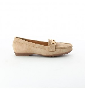 Mocasines para mujer marca Via Spring color beige