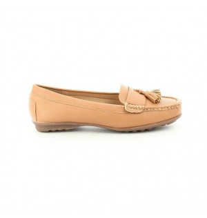 Mocasines para mujer marca Via Spring color camel