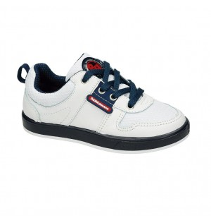 Zapato Casual Para Niño Color Blanco Marca Bubble Gummers