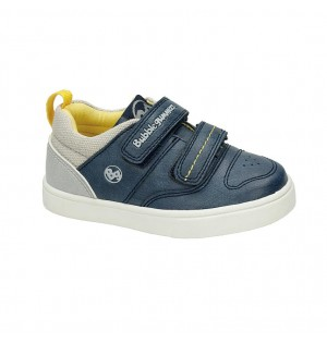 Zapato Casual Para Niño Color Azul Marca Bubble Gummers