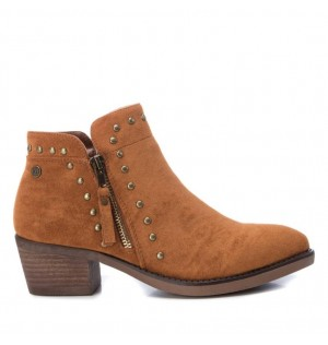 Botines Mujer Marca XTI Color Cafe